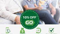 10% zniżki na przejazdy z Go Airport Shuttle z okazji Dnia Ojca!