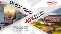 PolskiBus: 40% zniżki w promocji Express Promo!