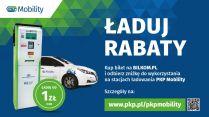 Tańsze ładowanie samochodów elektrycznych na PKP Mobility