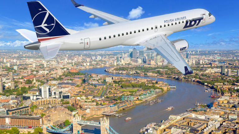 Nowe połączenie LOT-u do Londynu
