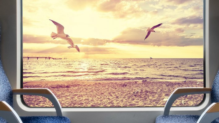 10 par pociągów nad morze – podróż w 69 minut!