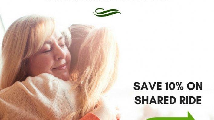 10% zniżki na przejazdy z Go Airport Shuttle z okazji Dnia Matki!