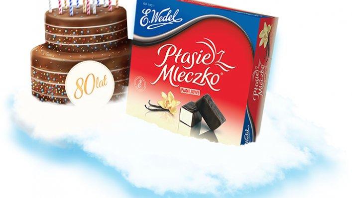 80. urodziny pianek Ptasie Mleczko!