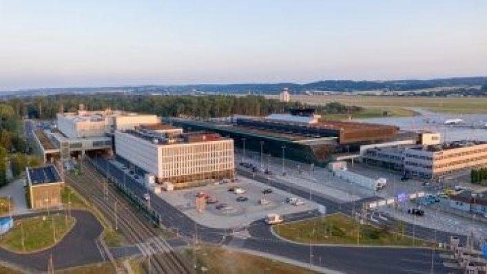 Energooszczędne oświetlenie LED na Kraków Airport