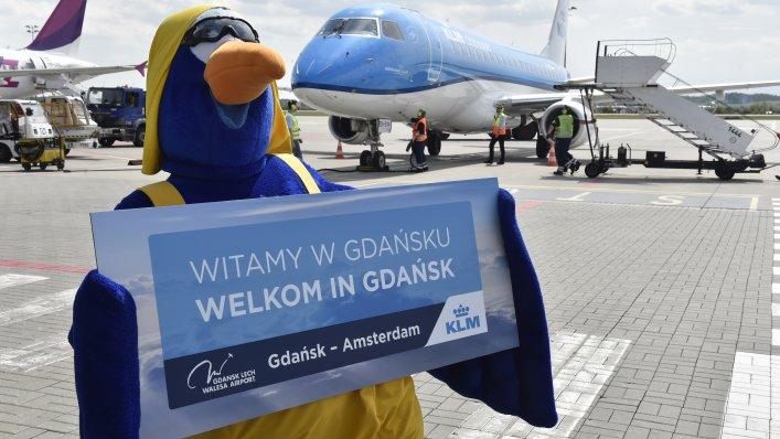 Gdańsk-Amsterdam 3 razy dziennie