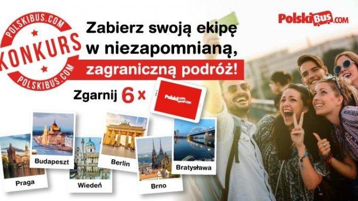 Konkurs PolskiBus z okazji 6 urodzin!