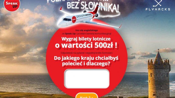 Konkurs: Wygraj 500 PLN na zakupy biletów lotniczych!