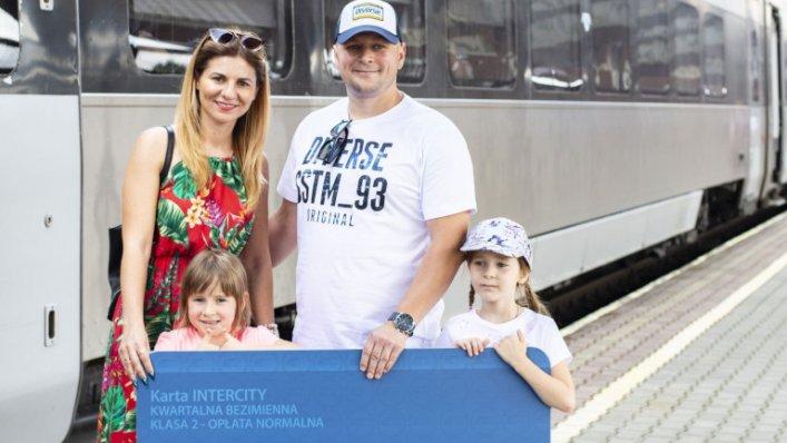 Milionowy pasażer PKP Intercity na trasie Przemyśl-Kijów!