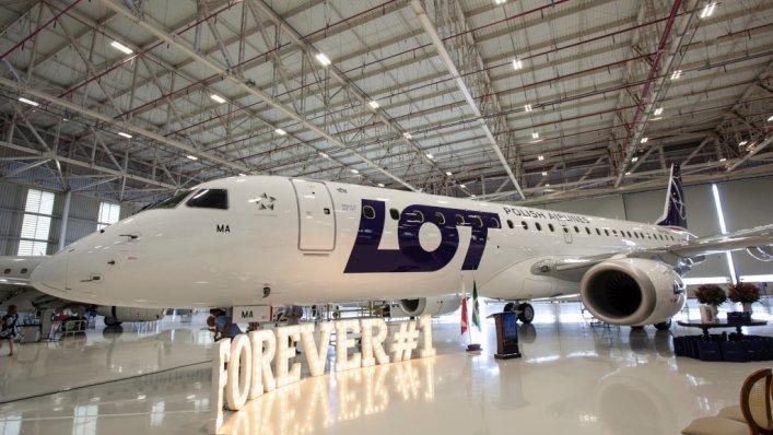 Nowe Embraery we flocie LOT-u