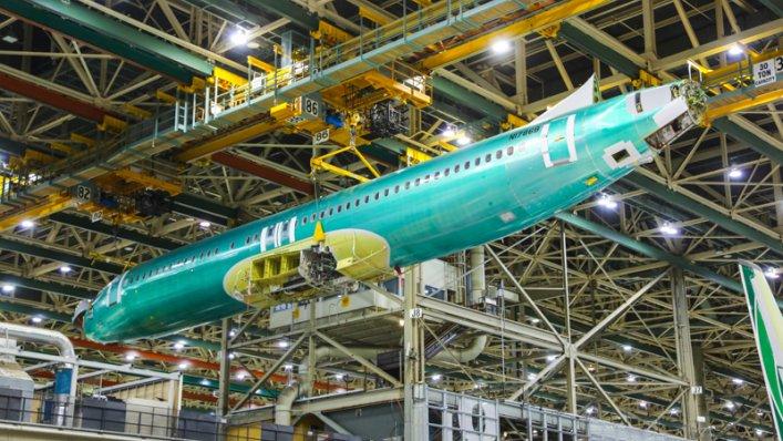 Pierwszy Boeing 737 MAX 8 dla LOT-u już na linii produkcyjnej!