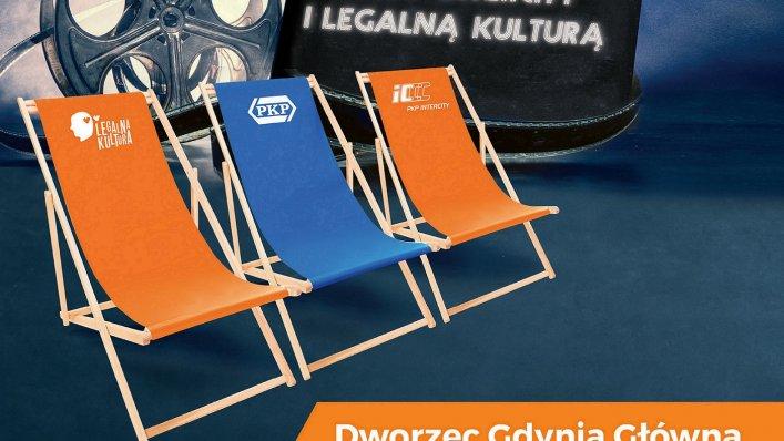 PKP Intercity: kino letnie na dworcu Gdynia Główna