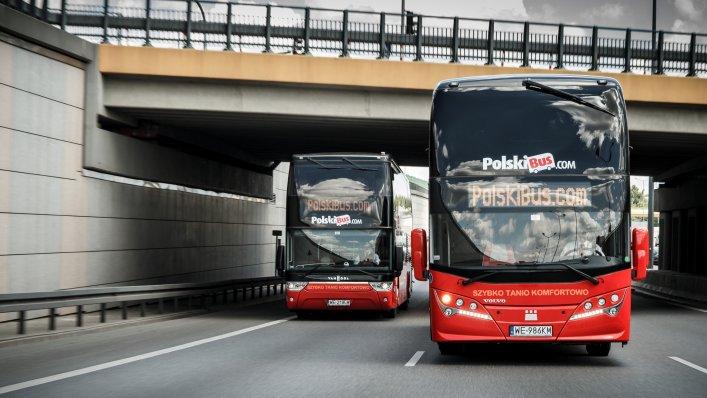 PolskiBus: -50% z Krakowa i Warszawy za granicę!