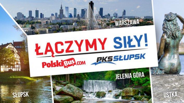PolskiBus łączy siły z PKS Słupsk!