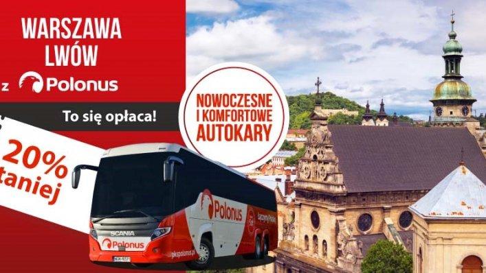 Promocja Polonus – zniżka na bilety do Lwowa!