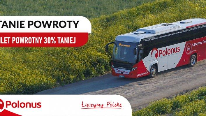 """Promocja """"Tanie Powroty"""" z Polonusem"""