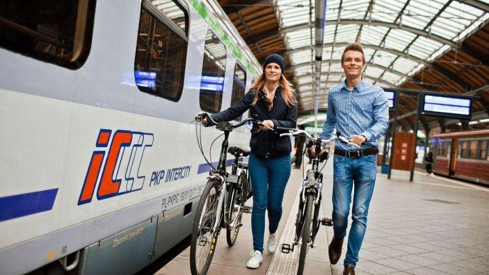 Przewóz rowerów za 1 zł pociągami PKP Intercity