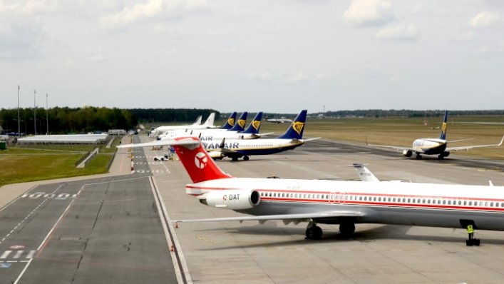 Rekord na Lotnisku Warszawa/Modlin – ponad 300 tys. pasażerów