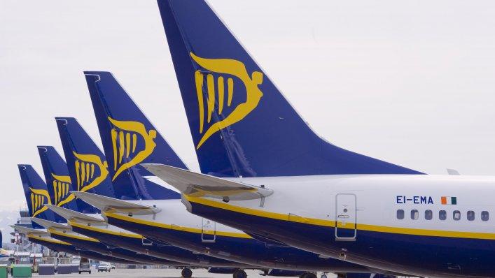 Ryanair: 1 milion miejsc od 39 PLN!