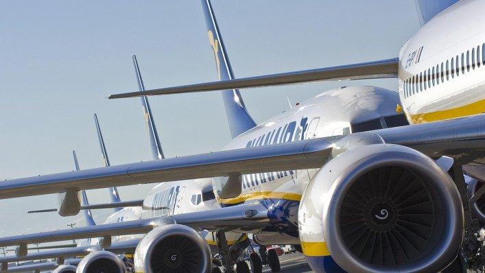 Ryanair odwołuje loty!