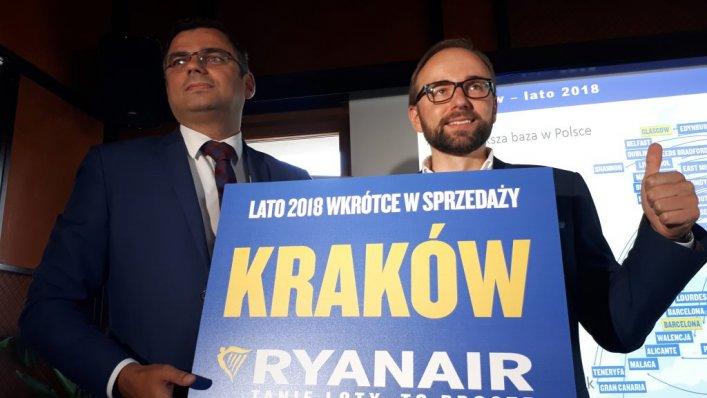 Ryanair ogłasza rekordowy rozkład lotów na lato 2018!