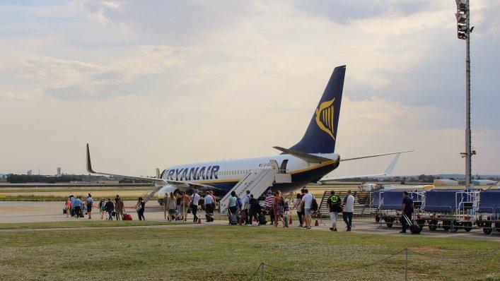 Ryanair pobija rekordy lotów w lato 2021