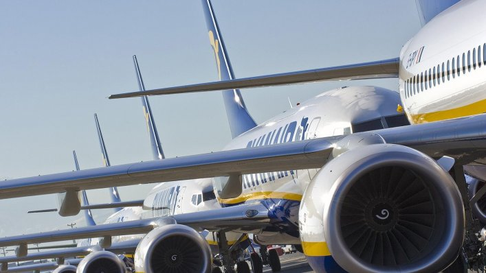 Ryanair: wielka wyprzedaż biletów! 500 000 biletów od 65,00 PLN!