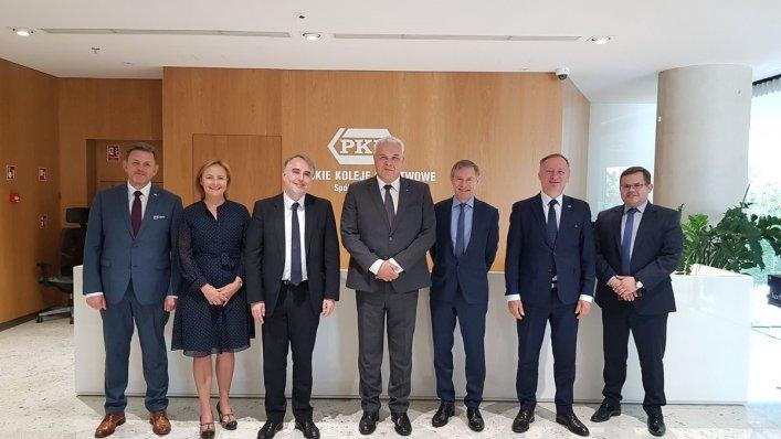 Wizyta dyrektora UIC w Polsce