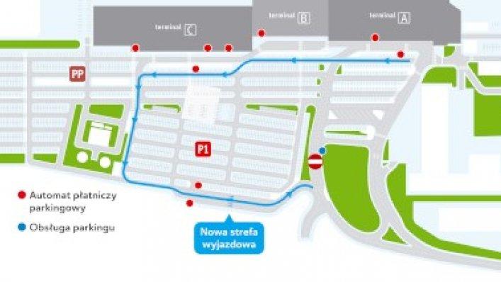 Zmiana ruchu na parkingu Katowice Airport!