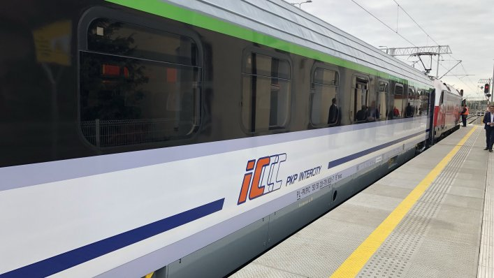 Zmodernizowane wagony PKP Intercity