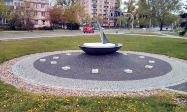 Zegar słoneczny we Wrocławiu